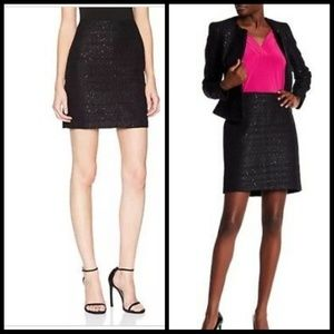 Anne Klein sequin and tweed pencil skirt. Nwt